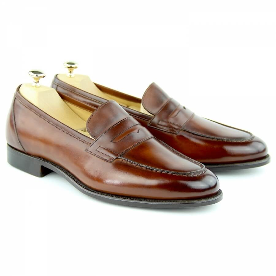 Loafers Shoes MC01 - Wine