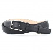 Grained Leather Belt MC02 - Black