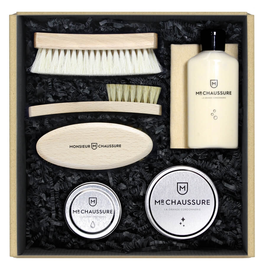 Leather Shoe Care Essential Kit