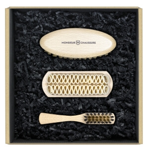 Suede Brushes Shoe Care Kit