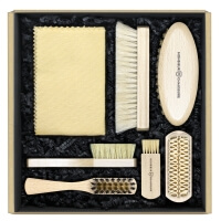 Leather & Suede Brushes Shoe Care Kit