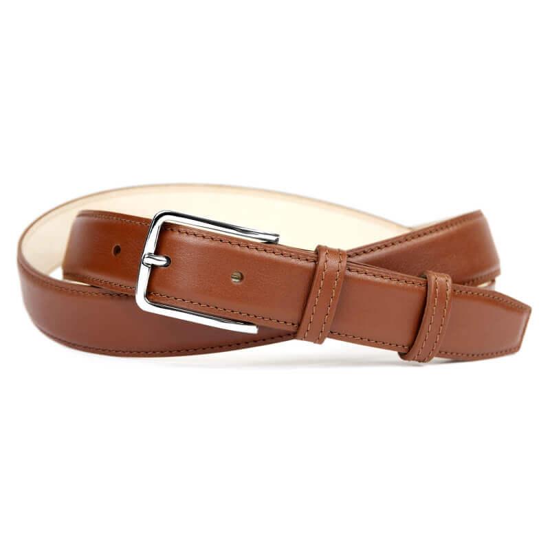 Leather Belt MC02 - Havana