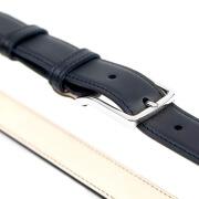 Leather Belt MC02 - Navy Blue