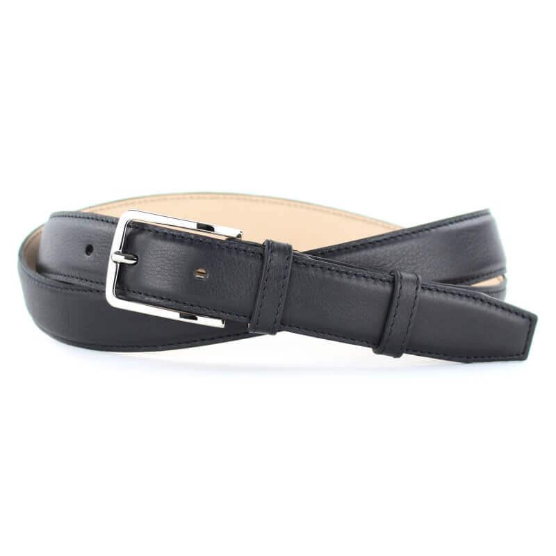 Leather Belt MC02 - Black