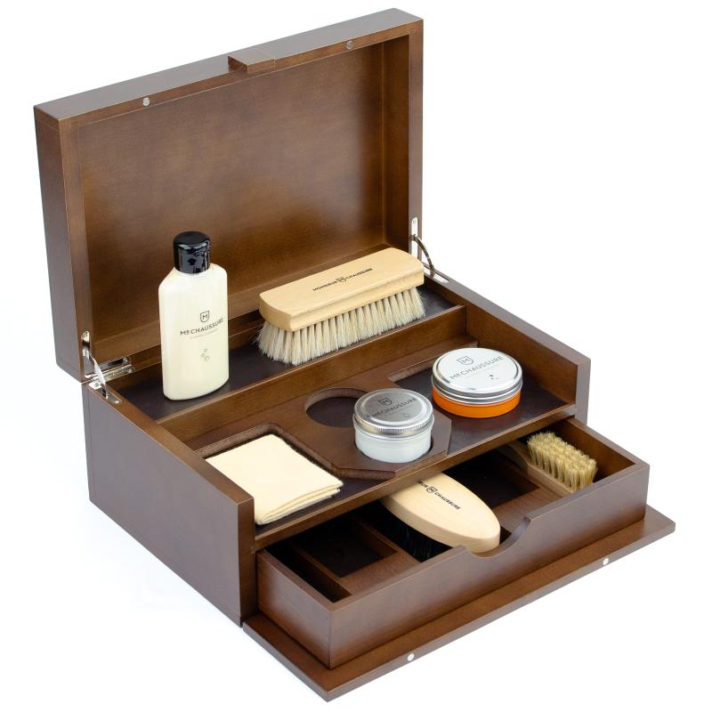 Luxury Shoe Shine Leather Essential Kit