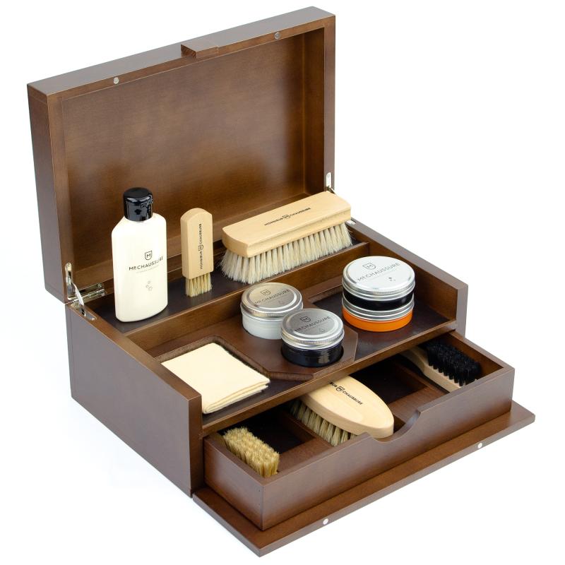 Luxury Shoe Shine Leather Full Kit