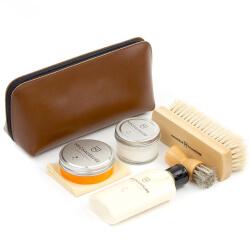 Cognac Shoe Shine Leather Starter Kit