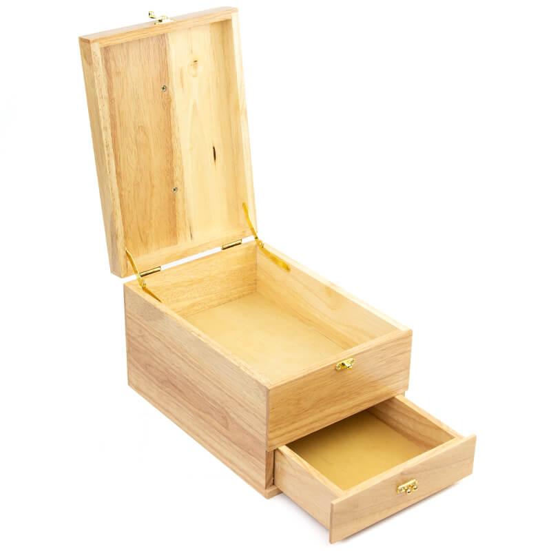 Coffret à cirages en bois
