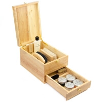 Vintage Shoe Shine Leather Full Kit