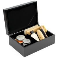 Executive Shoe Shine Leather Essential Kit
