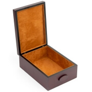 Compact Shoe Shine Box