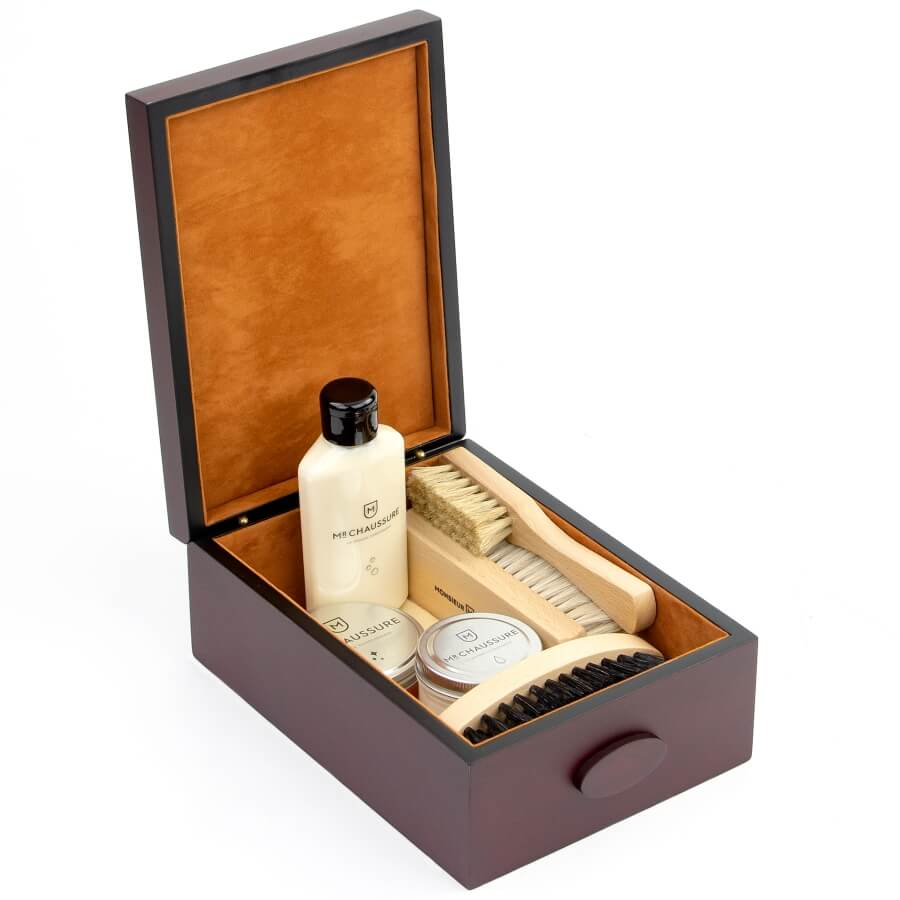 Compact Shoe Shine Leather Essential Kit