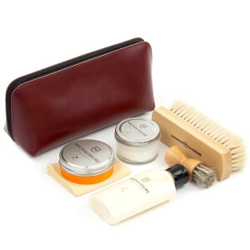 Bordeaux Shoe Shine Leather Starter Kit