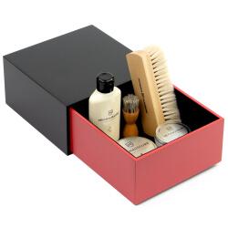 Red Shoe Shine Leather Starter Kit