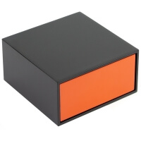 Orange Shoe Shine Box