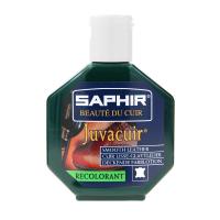 Saphir Juvacuir Dark Green Recoloring Cream