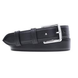 Leather Belt MC03 - Black