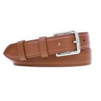 Grained Leather Belt MC03 - Havana