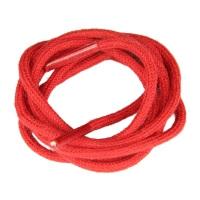 Lacets ronds fins Rouge