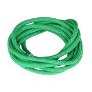 Lacets de couleur : vert - 100% coton
