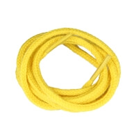 Yellow Fine Round Shoe Laces