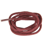 Bordeaux Fine Round Shoe Laces