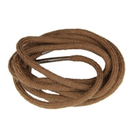 Medium Brown Fine Round Shoe Laces